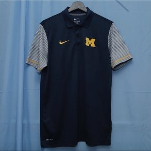 Nike Michigan Wolverines Polo